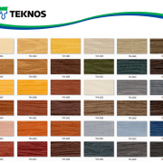 رنگ چوب و ترمو وود Teknos