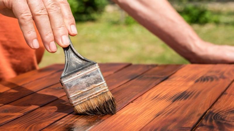 رنگ آمیزی چوب و ترمو وود