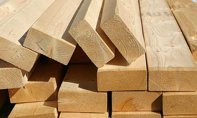 چوب برای تولید ترمووود