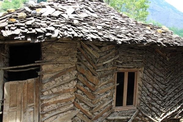 نمای چوب طبیعی
