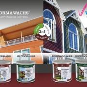 محصولات رنگ پوششی پایه آب فضای خارجی