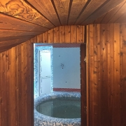 حوضچه سونا خشک