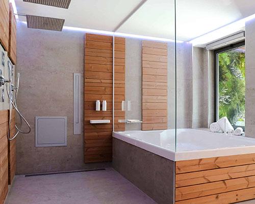 حمام-چوبی